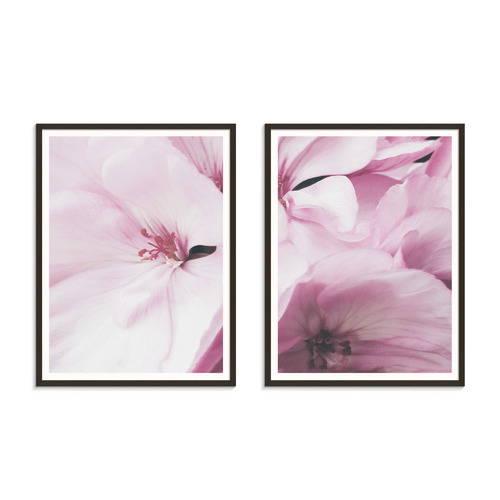 Our Artists' Collection 2 Piece Ideal Crimson Printed Wall Art Set