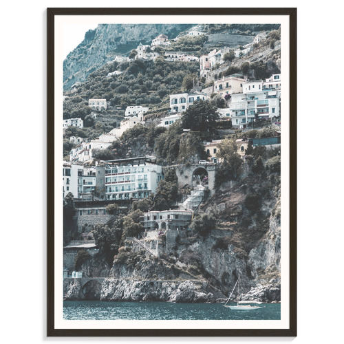 Our Artists' Collection Italian Hill Side Printed Wall Art
