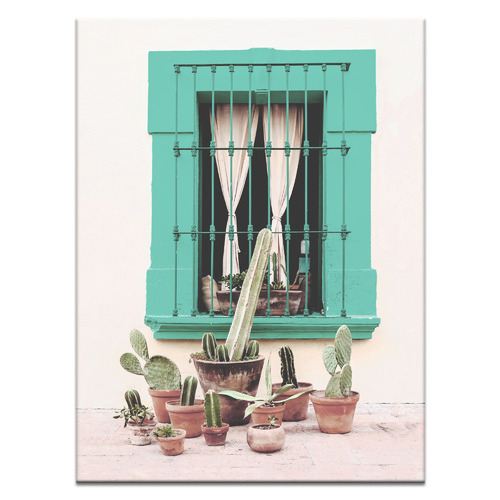 Our Artists' Collection Mexican Window Printed Wall Art