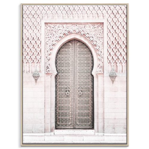 Our Artists' Collection Moroccan Door III Printed Wall Art