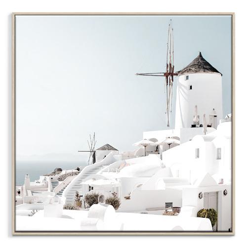 Our Artists' Collection Oia Santorini Printed Wall Art