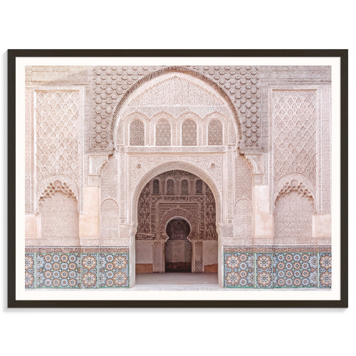 Our Artists' Collection Moroccan Arch Printed Wall Art