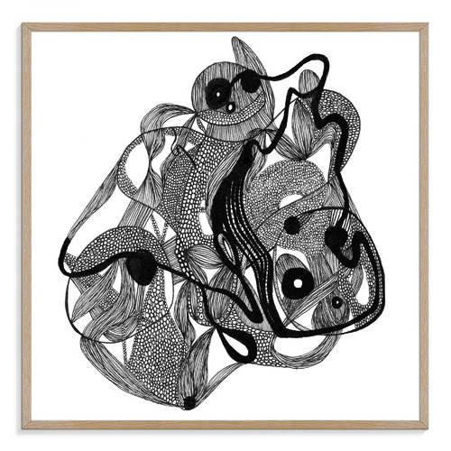 Concentrate Printed Wall Art by Giulia Disipio