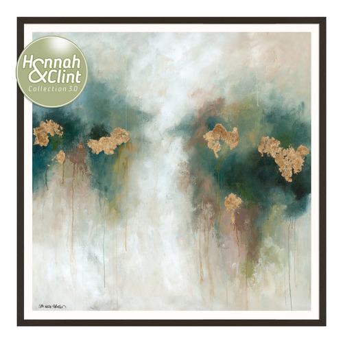 Our Artists' Collection Apricot & Sage Parfait Printed Wall Art