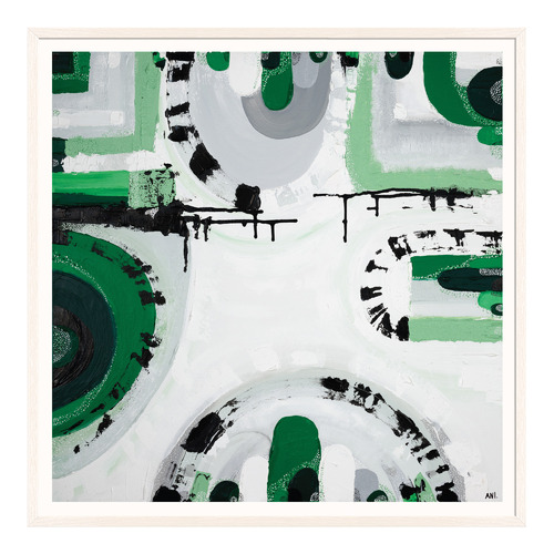 Melbourne Urban Forest Printed Wall Art