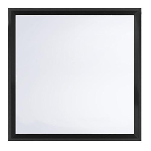 Spyglass Gallery Black Square Shelf Mirror