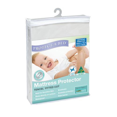 Protect A Bed Tencel Fitted Cot Mattress Protector Reviews