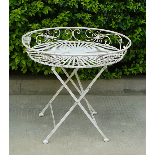 Cast Iron Outdoor Amy Tray Table