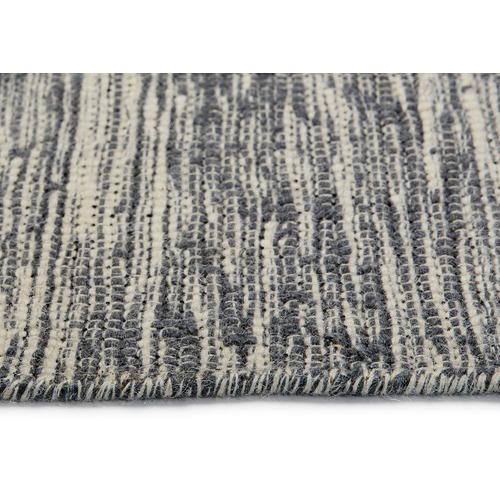 Ground Work Rugs Grey Pronto Wool & Cotton Runner