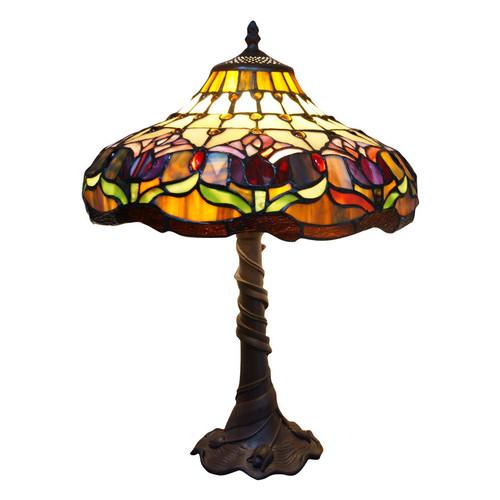 Tiffany Emporium Picaso Tiffany 1 Light Table Lamp