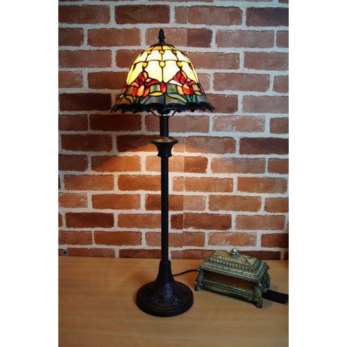 Tiffany Emporium Tulip Tiffany Table Lamp