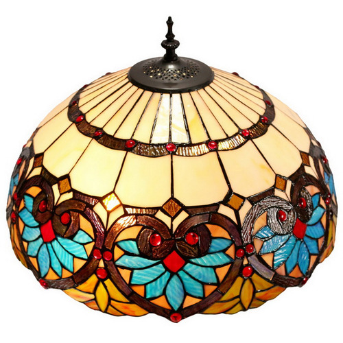 Tiffany Emporium Boheme Lotus Tiffany Style Floor Lamp