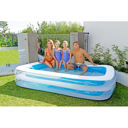 Large 2 ring giant family pool temple webster for Pool durchmesser 4 50
