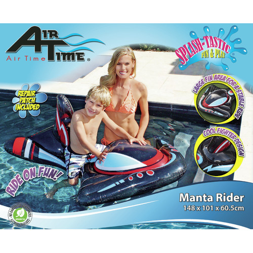 Splash Time Inflatable Mantra Ray Rider