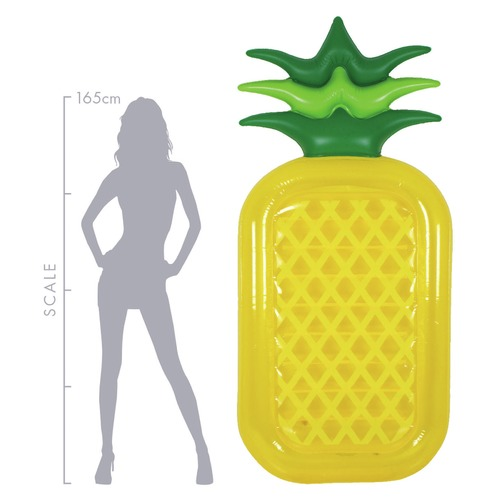 Splash Time Jumbo Pineapple Pool Float
