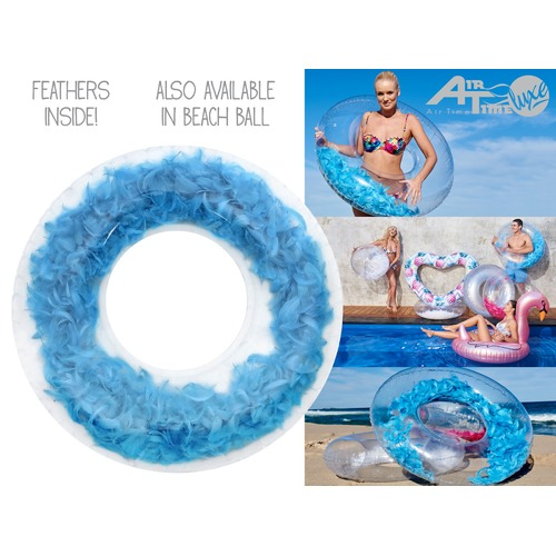 Splash Time Light as a Feather Inflatable Swim Ring