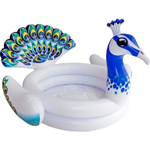 Splash Time 3D Inflatable Peacock Paddling Pool