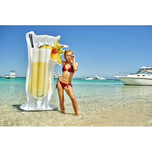 Splash Time Giant Pina Colada Cocktail Pool Float