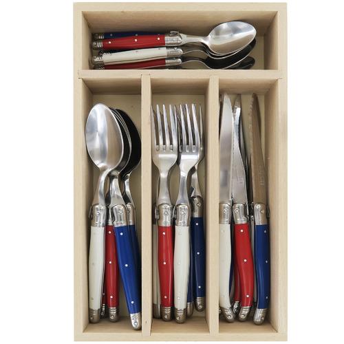 Andre Verdier 24 Piece Francais Laguiole Debutant Cutlery Set