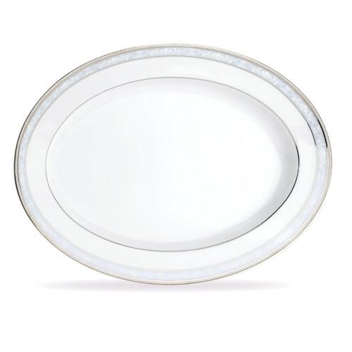 Noritake Hampshire Platinum 34 cm Oval Platter
