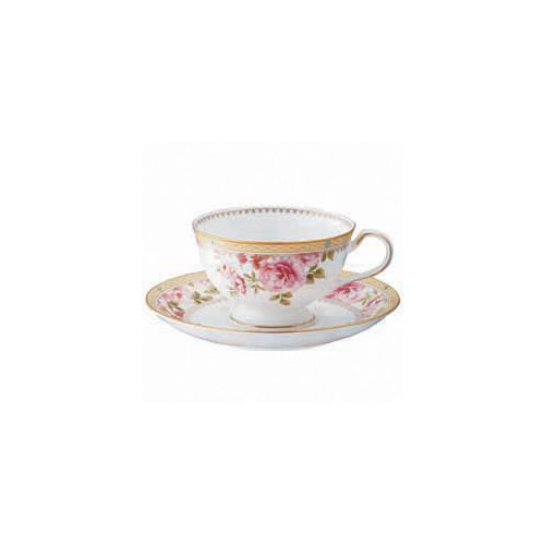 Noritake Hertford Cup and Saucer Set
