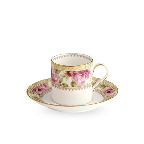 Noritake Hertford Espresso Cup and Saucer Set
