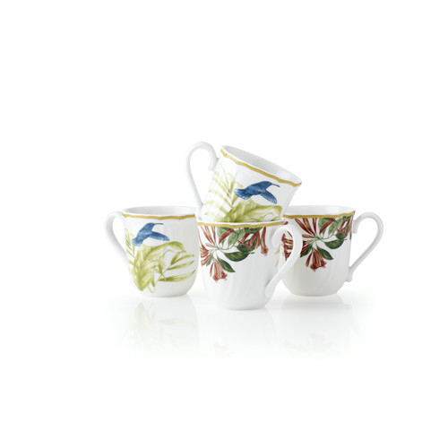 Noritake Hummingbird Meadow Mug Set