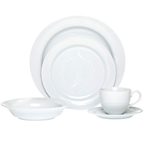 Noritake Arctic White 20 Piece Dinner Set with Gift Box  sc 1 st  Temple u0026 Webster & Arctic White 20 Piece Dinner Set with Gift Box