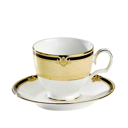 Noritake Braidwood Tea Cup and Saucer Set