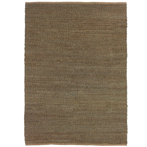 Colorscope Brown Khaki Deluxe Jute Rug
