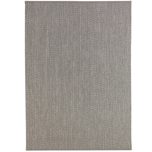 Colorscope Light Grey Seasons Stripes Outdoor Rug