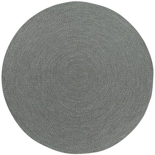 Colorscope Grey Seasons Stripes Round Outdoor Rug