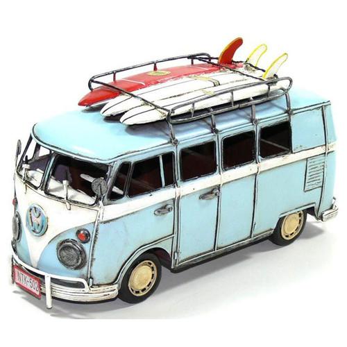 Boyle Kombi Van and 3 Surfboard