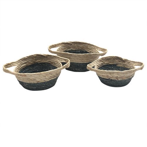 Boyle 3 Piece Flat Base Corn Basket Set