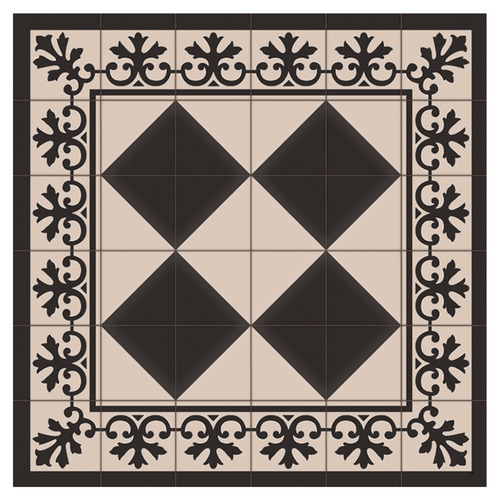 Boyle Black & Cream Liberty Square Trivet