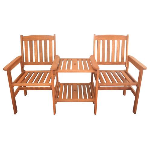 Breeze Outdoor Botany Hardwood Double Chair