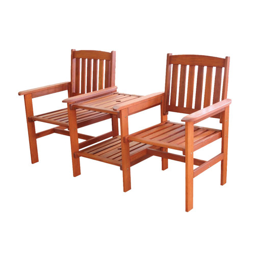 Breeze Outdoor Botany Hardwood Jack & Jill Chair
