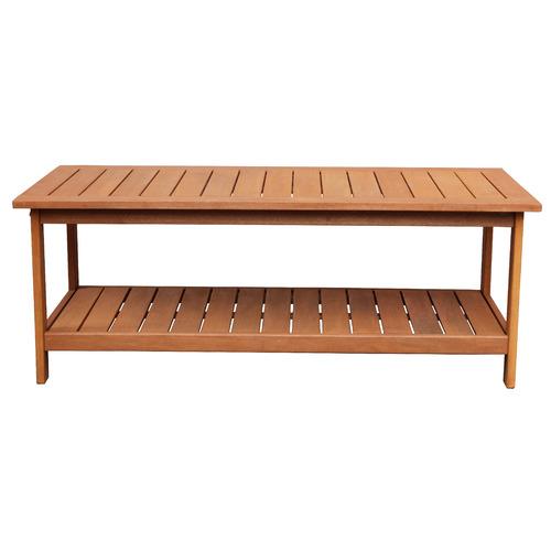 Breeze Outdoor Natural Avoca Wood Outdoor Coffee Table