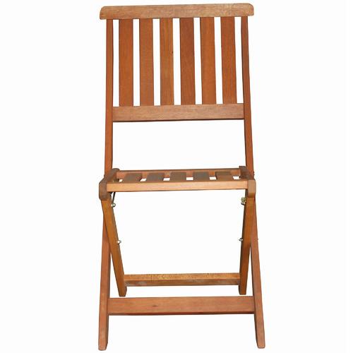 Breeze Outdoor Yarra Shorea Wood Outdoor Folding Chairs