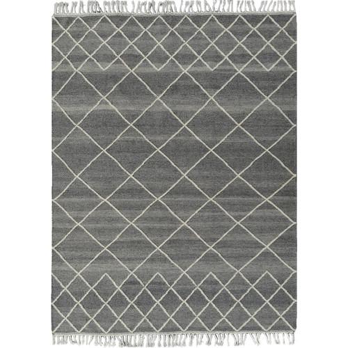 Charcoal Berber Kilim Rug Temple Webster