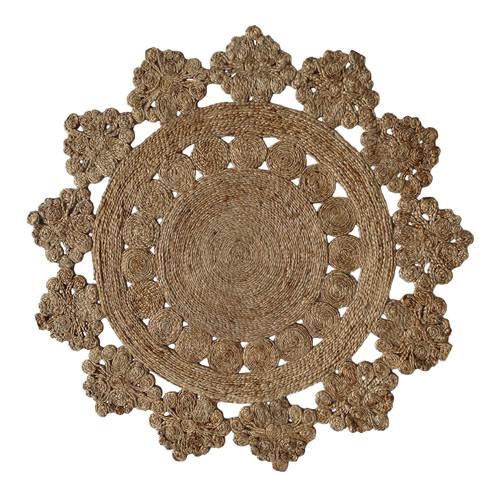 Atlas Flooring Anna III Decorative Natural Rug