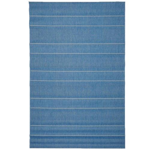 Atlas Flooring Blue Stripe Essenza Indoor Outdoor Rug