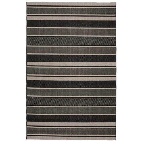 Atlas Flooring Black Stripe Essenza Indoor Outdoor Rug