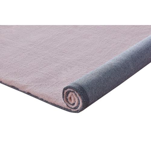 Atlas Flooring Blush Poly Rectangular Rug