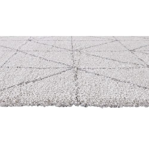 Atlas Flooring Light Grey Link Style Moroccan Rug