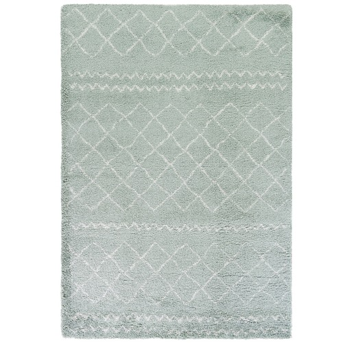 Atlas Flooring Green Diamond Style Moroccan Rug