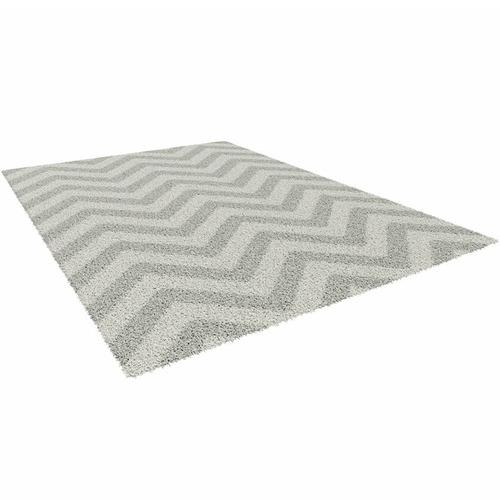 Atlas Flooring Grey Elle Chevron Rug