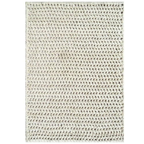 Atlas Flooring White Kraftwork Wool Rug