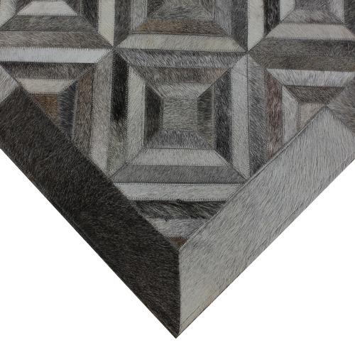 Atlas Flooring Grey La Paz Cowhide Rug
