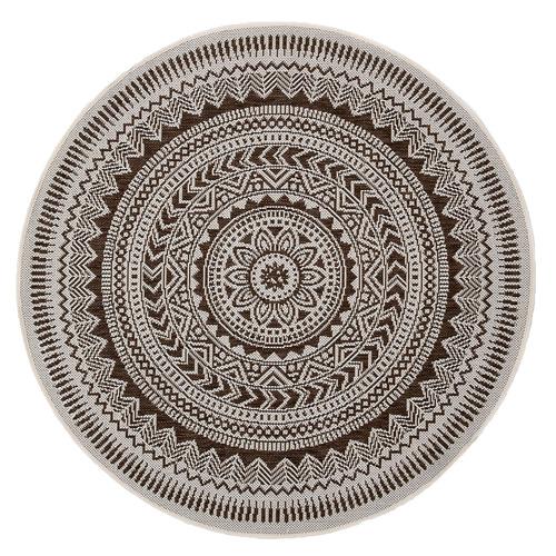 Atlas Flooring Brown Essenza Round Rug
